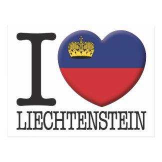 Liechtenstein Postkarte