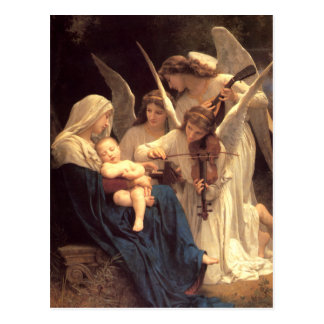 Lied der Engel Postkarte