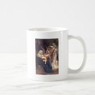 Lied der Engel - William-Adolphe Bouguereau Kaffeetasse