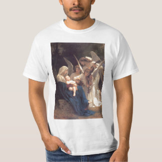 Lied der Engel - William-Adolphe Bouguereau T-Shirt