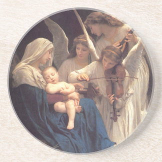 Lied der Engel - William-Adolphe Bouguereau Untersetzer