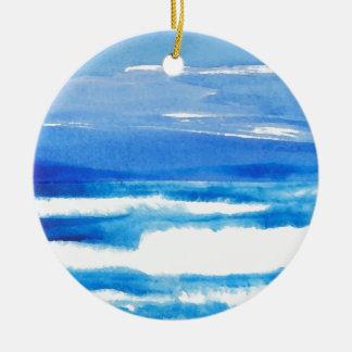 Lied der Küste - CricketDiane Ozean-Wellen Keramik Ornament