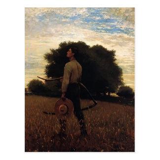 Lied der Lerche durch Winslow Homer Postkarte