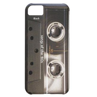 Lieder des Achtzigerjahre Kassette iPhone Falles iPhone 5C Hülle