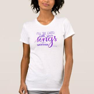 Lieder von Dankbarkeit, C.H. Spurgeon Quote, T-Shirt