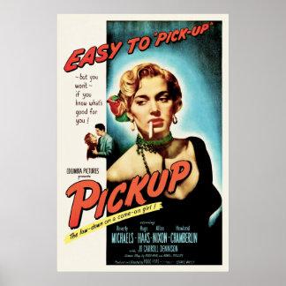 Lieferwagen - Vintages 1951 Film-Noir Film-Plakat