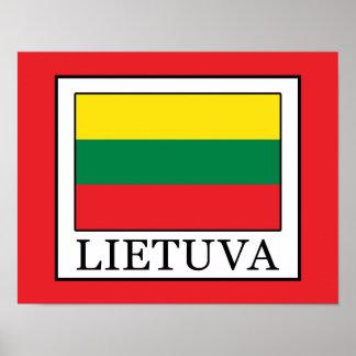 Lietuva Poster