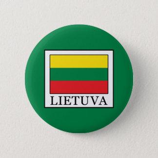 Lietuva Runder Button 5,1 Cm