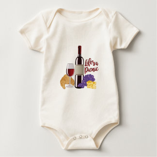 Lifes ein Picknick Baby Strampler