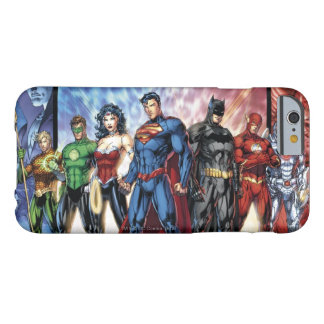 Liga-Anordnung der Gerechtigkeits-Liga-  neue der Barely There iPhone 6 Hülle
