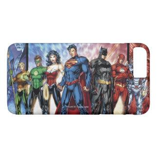 Liga-Anordnung der Gerechtigkeits-Liga-| neue der iPhone 8 Plus/7 Plus Hülle