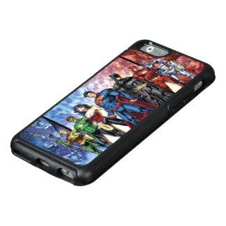 Liga-Anordnung der Gerechtigkeits-Liga-  neue der OtterBox iPhone 6/6s Hülle