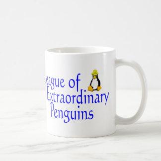 Liga außerordentlicher Pinguine 4 Kaffeetasse