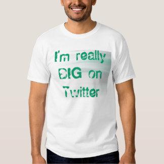 lightbkgrd, bin ich auf Twitter wirklich GROSS T Shirt