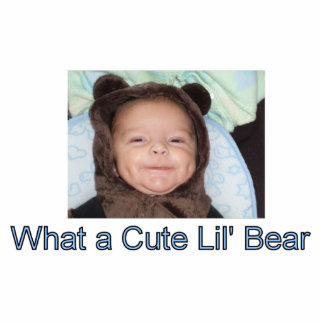 Lil Bär Acryl Ausschnitt