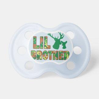 Lil Bruder-Camouflage-Jäger-Rotwild-Baby-Dusche Schnuller