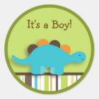 Lil Dino Dinosaurier-Aufkleber-Umschlag Aufkleber