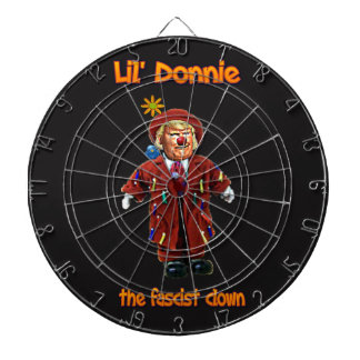 Lil Donnie der faschistische Clown Dartboard Dartscheibe