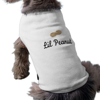 Lil Erdnuss Ärmelfreies Hunde-Shirt