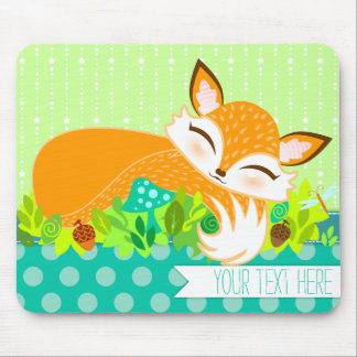 Lil Foxie CUB - niedliches kundenspezifisches Mousepad