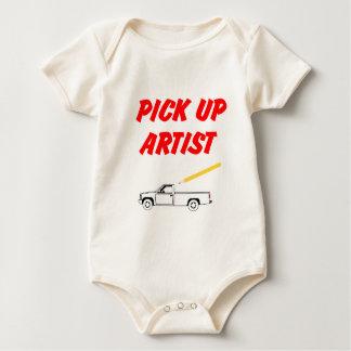 Lil heben Künstler-Baby Onsies auf Baby Strampler