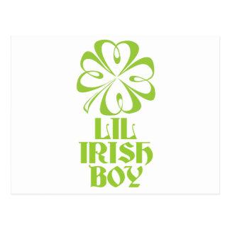Lil Iren-Junge Postkarte