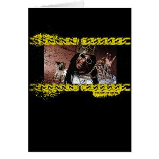 """Lil Jon """"König von Crunk """" Grußkarte"""