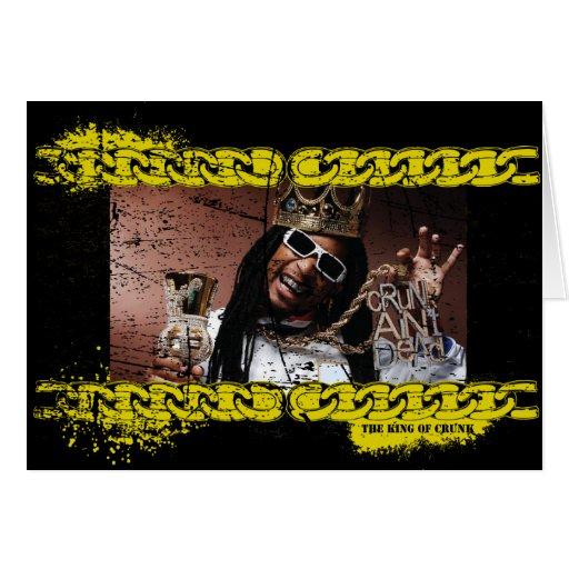 """Lil Jon """"König von Crunk """" Grußkarten"""