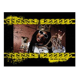 """Lil Jon """"König von Crunk """" Postkarte"""