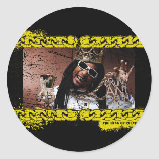 """Lil Jon """"König von Crunk """" Runder Aufkleber"""