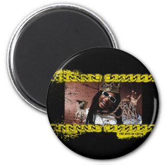 """Lil Jon """"König von Crunk """" Runder Magnet 5,7 Cm"""