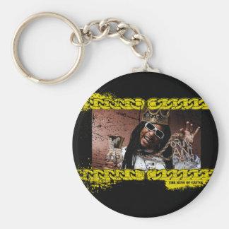 """Lil Jon """"König von Crunk """" Standard Runder Schlüsselanhänger"""