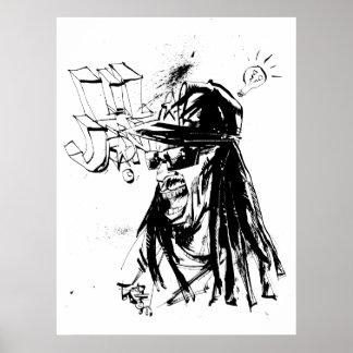 """Lil Jon """"Zusammenarbeit durch Jim Mahfood und Lil  Poster"""