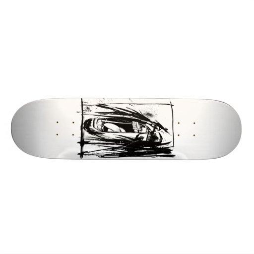 """Lil Jon """"Zusammenarbeit durch Jim Mahfood und Lil  Bedruckte Skateboarddecks"""