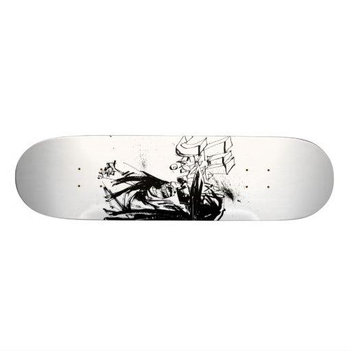 """Lil Jon """"Zusammenarbeit durch Jim Mahfood und Lil  Individuelle Skateboards"""