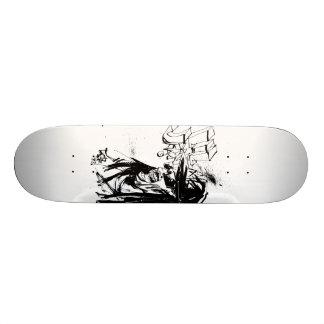 """Lil Jon """"Zusammenarbeit durch Jim Mahfood und Lil  Skateboarddeck"""