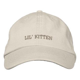Lil Kätzchen-Kappe Bestickte Kappe