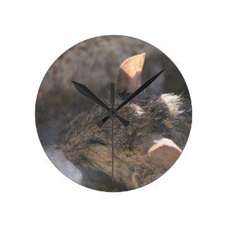 Lil Maus Runde Wanduhr