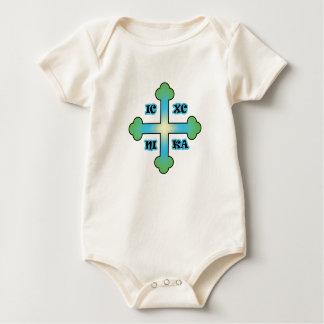Lil orthodoxer christlicher Junge Baby Strampler