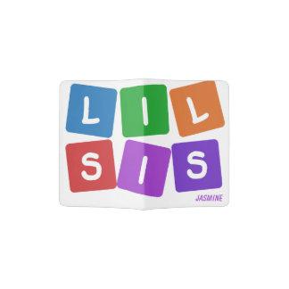 Lil SIS-Namepaßabdeckung Passhülle