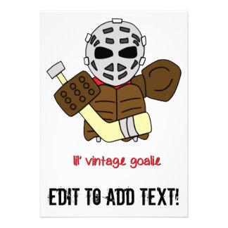 Lil Vintager HockeyGoalie Individuelle Einladungen