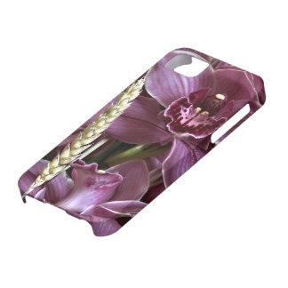 Lila Abdeckung der Orchideen-iPhone5 Hülle Fürs iPhone 5
