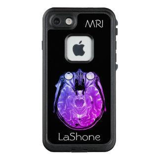 Lila abgetönter MRI Gehirn-Scan LifeProof FRÄ' iPhone 8/7 Hülle