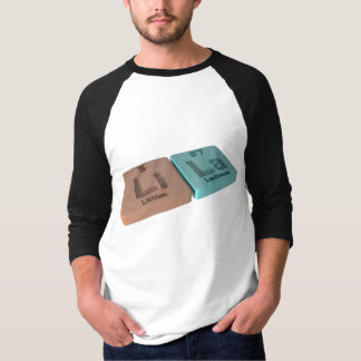 lila als Lithium Li und Lanthan-La T-Shirt