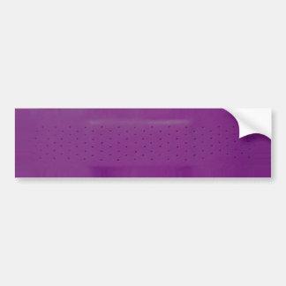 Lila Band-HilfeAutoaufkleber Autoaufkleber