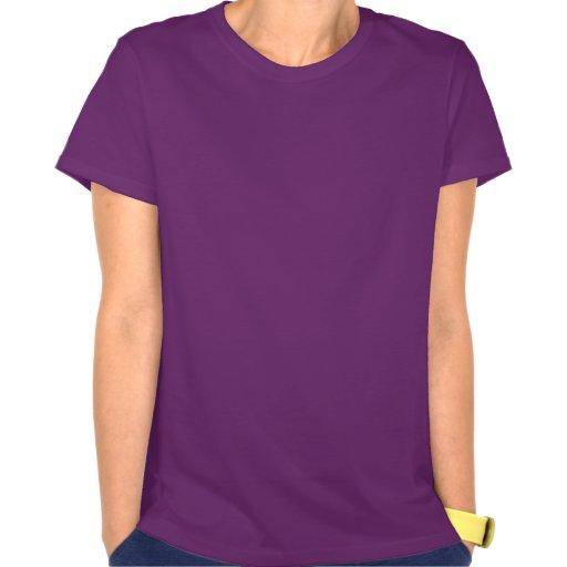 Lila Betrieb T Shirt