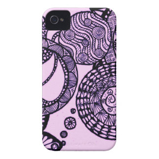 Lila Blasen iPhone 4 Cover
