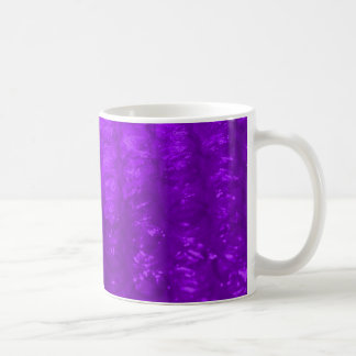 Lila Blasen-Verpackungs-Effekt Kaffeetasse