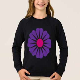 Lila Blume Sweatshirt