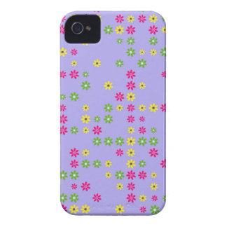 Lila BlumeConfetti iPhone 4 Case-Mate Hülle